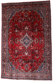 Hamadan Shahrbaf Rug 208X310 Authentic  Oriental Handknotted Dark Red/Crimson Red (Wool, Persia/Iran)