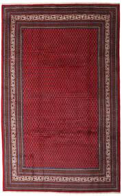 Sarouk Mir Rug 200X315 Authentic  Oriental Handknotted Dark Red/Dark Brown (Wool, Persia/Iran)