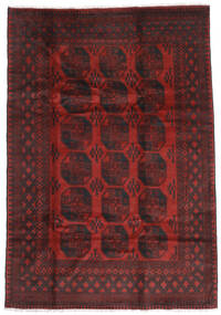 Afghan Rug 196X285 Authentic  Oriental Handknotted Dark Red/Dark Brown (Wool, Afghanistan)