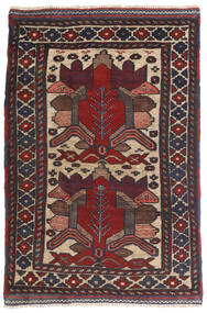 Kilim Golbarjasta Rug 90X140 Authentic  Oriental Handwoven Dark Blue/Dark Brown (Wool, Afghanistan)