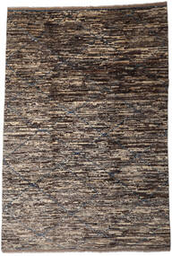 Moroccan Berber - Afghanistan Rug 200X294 Authentic  Modern Handknotted Dark Brown/Light Grey/Dark Grey (Wool, Afghanistan)