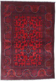 Afghan Khal Mohammadi Rug 101X148 Authentic  Oriental Handknotted Dark Red/Dark Purple (Wool, Afghanistan)