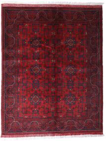 Afghan Khal Mohammadi Rug 152X191 Authentic  Oriental Handknotted Dark Red/Dark Brown (Wool, Afghanistan)
