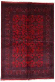 Afghan Khal Mohammadi Rug 162X234 Authentic  Oriental Handknotted Dark Red/Crimson Red (Wool, Afghanistan)