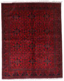 Afghan Khal Mohammadi Rug 174X220 Authentic  Oriental Handknotted Dark Red/Crimson Red (Wool, Afghanistan)