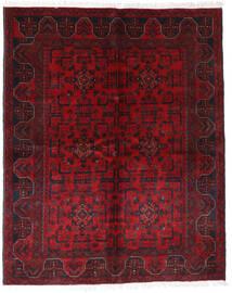 Afghan Khal Mohammadi Rug 148X185 Authentic  Oriental Handknotted Dark Red/Crimson Red (Wool, Afghanistan)