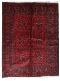Afghan Khal Mohammadi Rug 170X225 Authentic  Oriental Handknotted Dark Red/Black (Wool, Afghanistan)