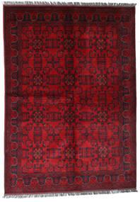 Afghan Khal Mohammadi Rug 170X240 Authentic Oriental Handknotted Dark Red/Crimson Red (Wool, Afghanistan)