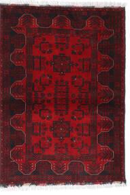 Afghan Khal Mohammadi Rug 102X140 Authentic  Oriental Handknotted Dark Red/Dark Brown/Crimson Red (Wool, Afghanistan)