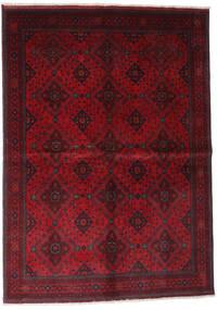 Afghan Khal Mohammadi Rug 168X232 Authentic  Oriental Handknotted Dark Red/Crimson Red (Wool, Afghanistan)