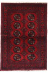 Afghan Khal Mohammadi Rug 99X144 Authentic  Oriental Handknotted Dark Red/Crimson Red (Wool, Afghanistan)