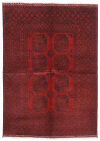 Afghan Rug 172X240 Authentic Oriental Handknotted Dark Red/Dark Brown (Wool, Afghanistan)