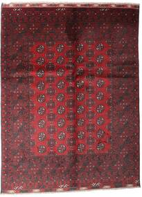 Afghan Rug 81X121 Authentic  Oriental Handknotted Dark Red/Crimson Red (Wool, Afghanistan)