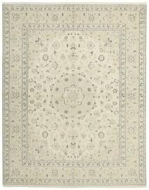 Nain 9La Rug 196X249 Authentic  Oriental Handknotted Dark Beige/Beige (Wool/Silk, Persia/Iran)