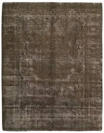 Vintage Heritage Rug 300X388 Authentic Modern Handknotted Dark Grey/Dark Brown Large (Wool, Persia/Iran)