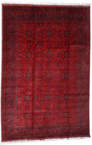 Afghan Khal Mohammadi Rug 203X301 Authentic  Oriental Handknotted Dark Red/Crimson Red (Wool, Afghanistan)