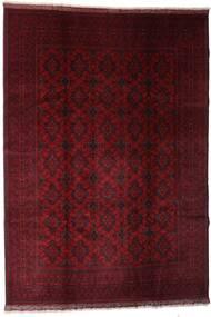 Afghan Khal Mohammadi Rug 204X289 Authentic  Oriental Handknotted Dark Red (Wool, Afghanistan)