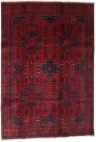 Afghan Khal Mohammadi Rug 199X289 Authentic  Oriental Handknotted Dark Red (Wool, Afghanistan)