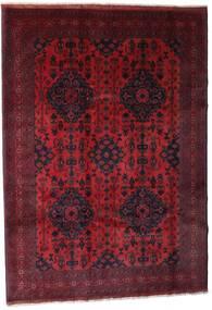 Afghan Khal Mohammadi Rug 203X288 Authentic  Oriental Handknotted Dark Red (Wool, Afghanistan)