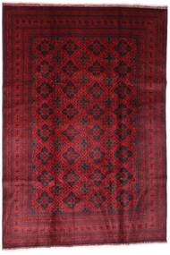 Afghan Khal Mohammadi Rug 198X294 Authentic  Oriental Handknotted Dark Red (Wool, Afghanistan)