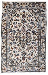 Keshan Rug 90X140 Authentic  Oriental Handknotted Light Grey/Dark Grey (Wool, Persia/Iran)