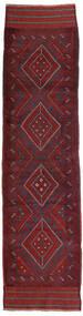 Kilim Golbarjasta Rug 66X255 Authentic  Oriental Handwoven Hallway Runner  Dark Red/Dark Purple (Wool, Afghanistan)