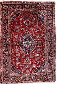 Keshan Rug 100X147 Authentic  Oriental Handknotted Dark Red/Dark Purple (Wool, Persia/Iran)