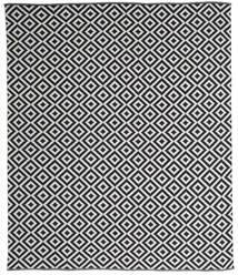Torun - Black/Neutral Rug 250X300 Authentic  Modern Handwoven Dark Grey/Light Grey Large (Cotton, India)