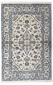 Keshan Rug 100X150 Authentic Oriental Handknotted Light Grey/Dark Grey (Wool, Persia/Iran)