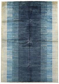 Battuta Rug 170X231 Authentic  Modern Handknotted Dark Blue/Light Blue (Wool, Afghanistan)