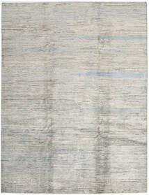 Modern Afghan Rug 207X273 Authentic  Modern Handknotted Light Grey/Dark Beige (Wool, Afghanistan)