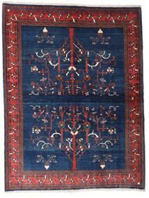 Gabbeh Kashkooli Rug 154X200 Authentic Modern Handknotted Dark Purple/Dark Blue (Wool, Persia/Iran)