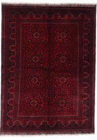 Kunduz Rug 147X198 Authentic Oriental Handknotted Dark Red (Wool, Afghanistan)