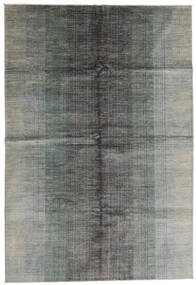 Modern Afghan Rug 198X290 Authentic  Modern Handknotted Light Grey (Wool, Afghanistan)