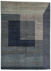 Battuta Rug 220X300 Authentic  Modern Handknotted Dark Grey/Dark Blue (Wool, Afghanistan)
