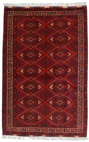 Kunduz Rug 99X150 Authentic  Oriental Handknotted Dark Red/Dark Brown (Wool, Afghanistan)