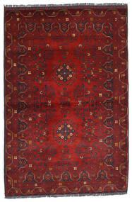 Kunduz Rug 99X141 Authentic  Oriental Handknotted Dark Red (Wool, Afghanistan)