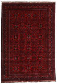 Kunduz Rug 191X281 Authentic  Oriental Handknotted Dark Red (Wool, Afghanistan)