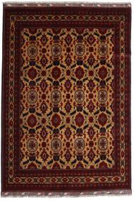 Kunduz Rug 197X285 Authentic  Oriental Handknotted Dark Brown/Dark Red (Wool, Afghanistan)