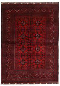 Kunduz Rug 169X232 Authentic  Oriental Handknotted Dark Red/Crimson Red (Wool, Afghanistan)