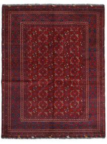 Kunduz Rug 161X208 Authentic  Oriental Handknotted Dark Red (Wool, Afghanistan)