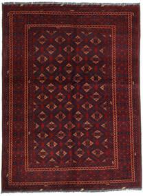 Kunduz Rug 145X195 Authentic Oriental Handknotted Dark Red (Wool, Afghanistan)
