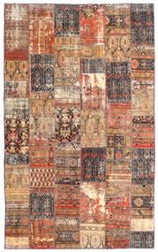 Patchwork - Persien/Iran Rug 191X312 Authentic  Modern Handknotted Dark Red/Brown (Wool, Persia/Iran)