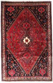 Qashqai Rug 166X259 Authentic Oriental Handknotted Dark Red/Dark Brown (Wool, Persia/Iran)