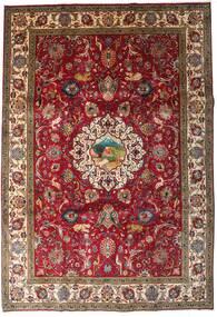 Tabriz Rug 246X355 Authentic  Oriental Handknotted Dark Red/Dark Brown (Wool, Persia/Iran)