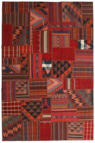 Tekkeh Kilim Rug 200X302 Authentic Modern Handwoven Dark Red/Rust Red (Wool, Persia/Iran)