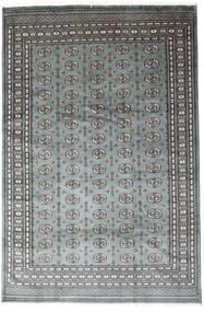 Pakistan Bokhara 2Ply Rug 201X305 Authentic  Oriental Handknotted Dark Grey/Light Grey (Wool, Pakistan)