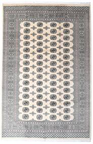 Pakistan Bokhara 2Ply Rug 200X305 Authentic  Oriental Handknotted Light Grey/Beige/Dark Grey (Wool, Pakistan)