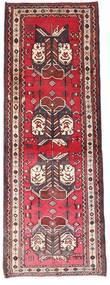 Afshar Rug 90X238 Authentic  Oriental Handknotted Hallway Runner  Dark Brown/Dark Red (Wool, Persia/Iran)
