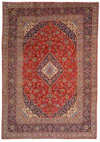 Keshan Rug 240X350 Authentic  Oriental Handknotted Dark Brown/Dark Red (Wool, Persia/Iran)